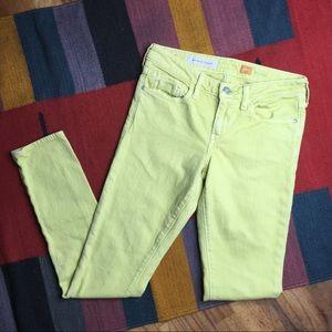 Pilcro & the Letterpress Stet Skinny Jeans Sz 27